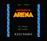 Heroes Arena - Tela título