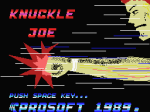 Knuckle Joe - 1