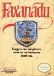 Faxanadu (NES - Capa)