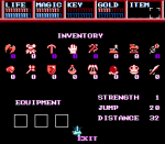 Legacy of the Wizard (NES) 3