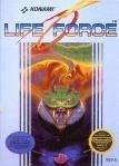 Capa do Life Force europeu (NES)