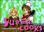 Tela título de Super Cooks