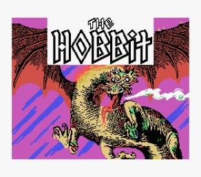 """Tela de Abertura d""""O Hobbit"""""""