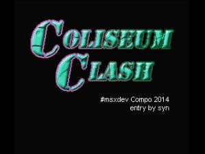 Coliseum Clash Title Screen