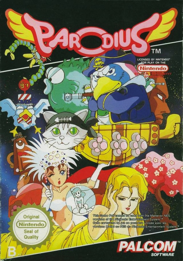 Capa do NES Européia